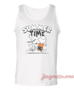 Summer Time Unisex Adult Tank Top