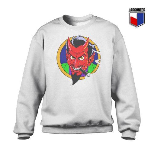 The Red Devil Face Crewneck Sweatshirt
