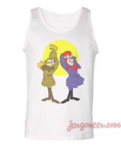 Twin Or Not Twin Unisex Adult Tank Top