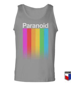 Paranoid Unisex Adult Tank Top