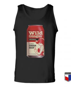Wild Ginger Tin Unisex Adult Tank Top