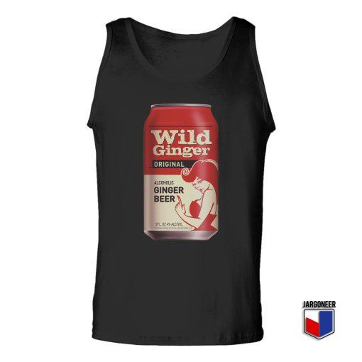 Wild Ginger Tin Unisex Adult Tank Top