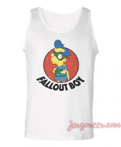 Fall Out Boy Unisex Adult Tank Top