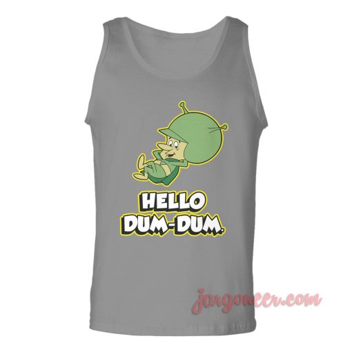 Hello Dum Dum Unisex Adult Tank Top