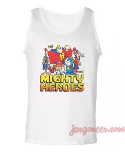 Mighty Heroes Unisex Adult Tank Top