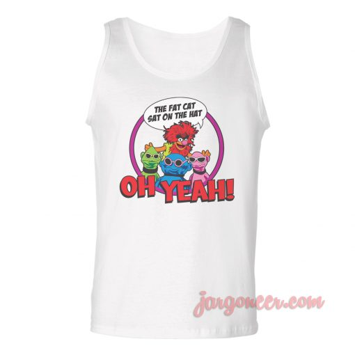 The Fat Cat Unisex Adult Tank Top