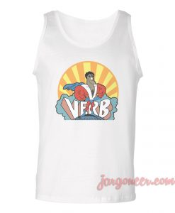 Verb School Of Rock Unisex Adult Tank Top