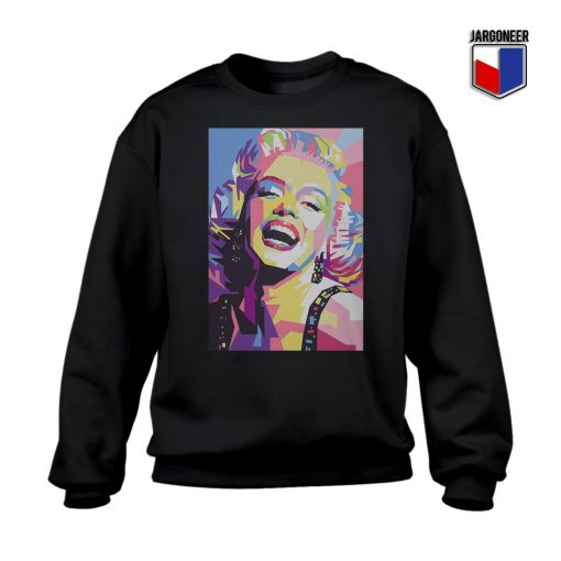 Colorful Monroe Crewneck Sweatshirt