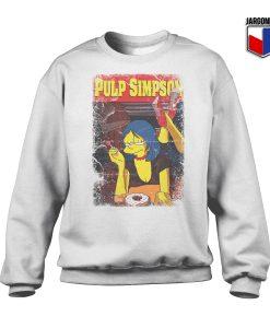 Pulp Simpson Crewneck Sweatshirt