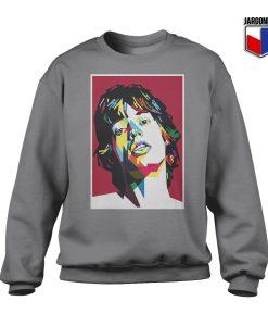 Red Jagger Crewneck Sweatshirt