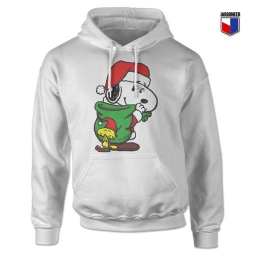 Santa Snoopy Hoodie