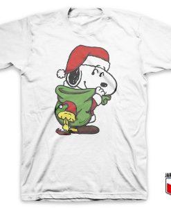 Santa Snoopy T-Shirt