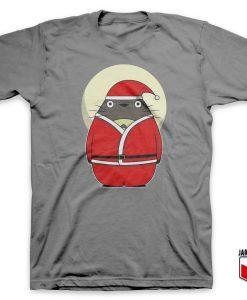 Santa Totoro T-Shirt