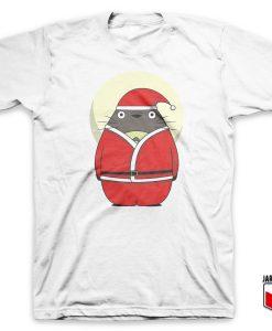 Santa Totoro T Shirt