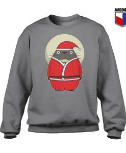Santa Totoro Crewneck Sweatshirt