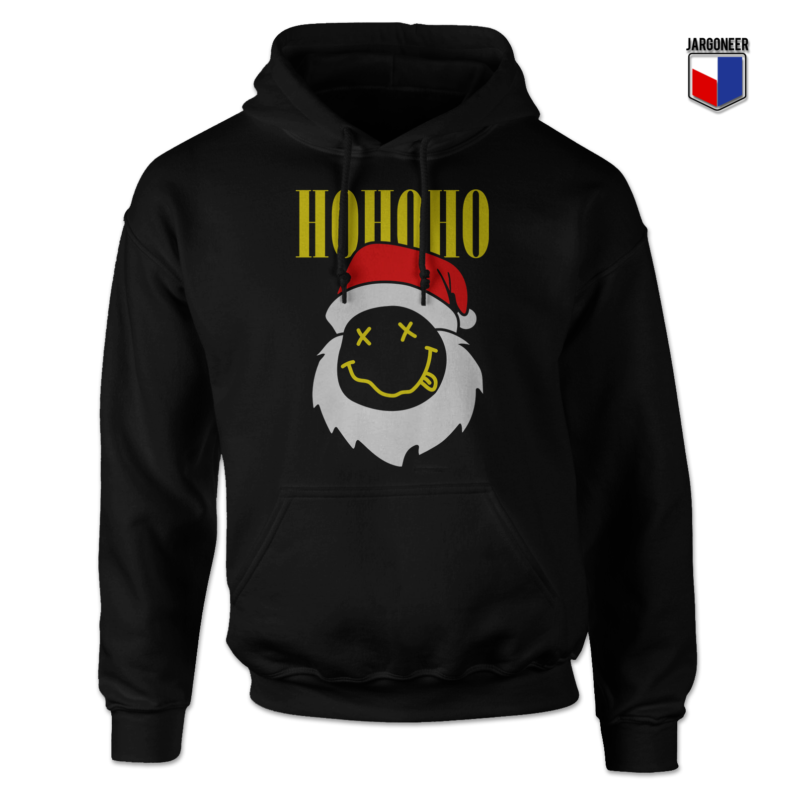 Smell Like North Pole Spirit Black Hoodie