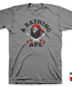 Bape Pirate Store T Shirt