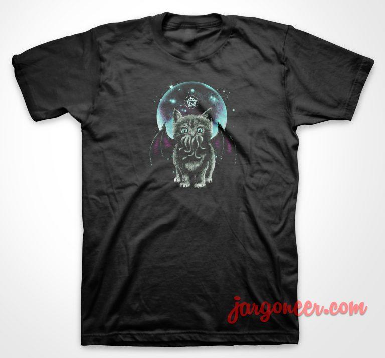 Cosmic Purrrcraft T-Shirt