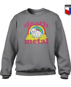 Death Metal Crewneck Sweatshirt