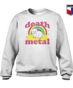 Death Metal Crewneck Sweatshirt