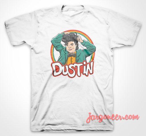 Dustin Retro Style T Shirt