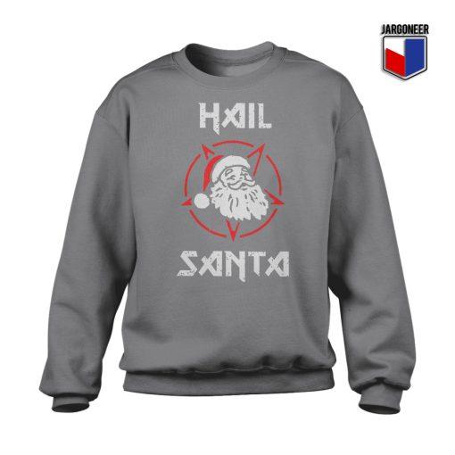 Hail Satan Claus Crewneck Sweatshirt