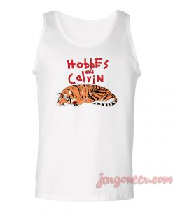 Hobbes And Calvin Unisex Adult Tank Top
