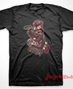 Homer Hellboy T-Shirt