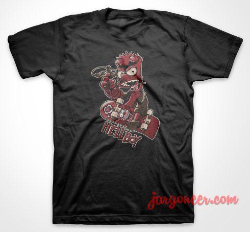 Homer Hellboy T Shirt