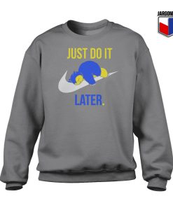 Just Relax Crewneck Sweatshirt