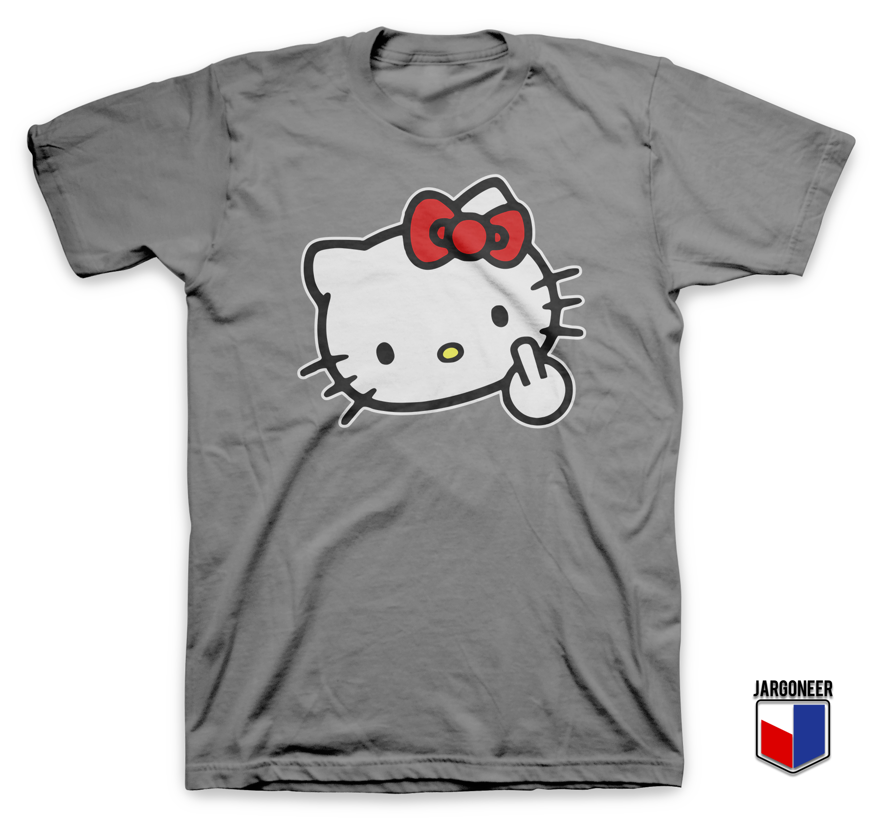 Hello kitty cute goes rude t shirt ideas t shirt shirt for Hello kitty t shirt design