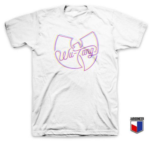 Neon Shockin Colors Wu Tang Clan T Shirt