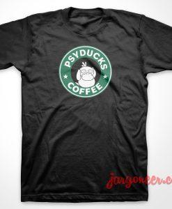 Psyduck Coffee T-Shirt