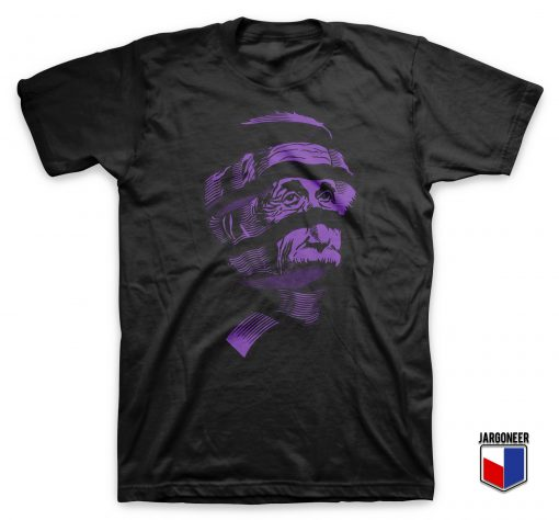 Purple Einstein T Shirt