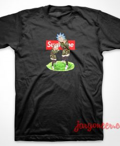 Rick And Morthy Supreme T-Shirt