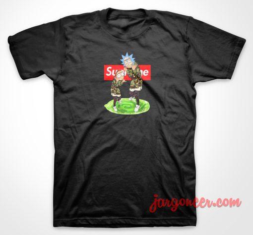 Rick And Morthy Supreme T Shirt