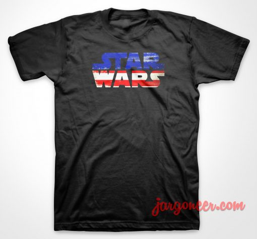 Star Wars American Flag T Shirt