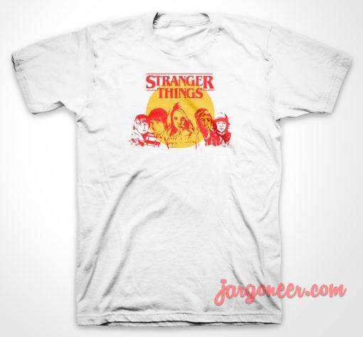Stranger Things Gang T Shirt