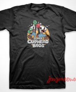 Super Cuphead Bros T-Shirt