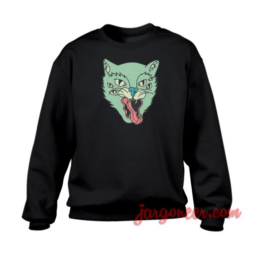The Cat Eyes Crewneck Sweatshirt