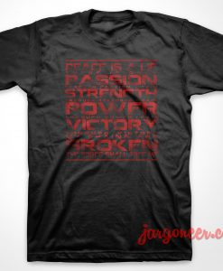 The Sith Code Star Wars T-Shirt