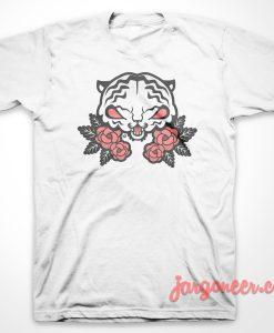 Tiger Flower T-Shirt