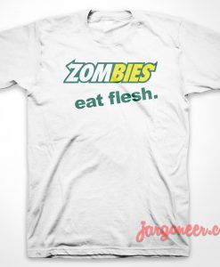 Zombies Subway Parody T-Shirt