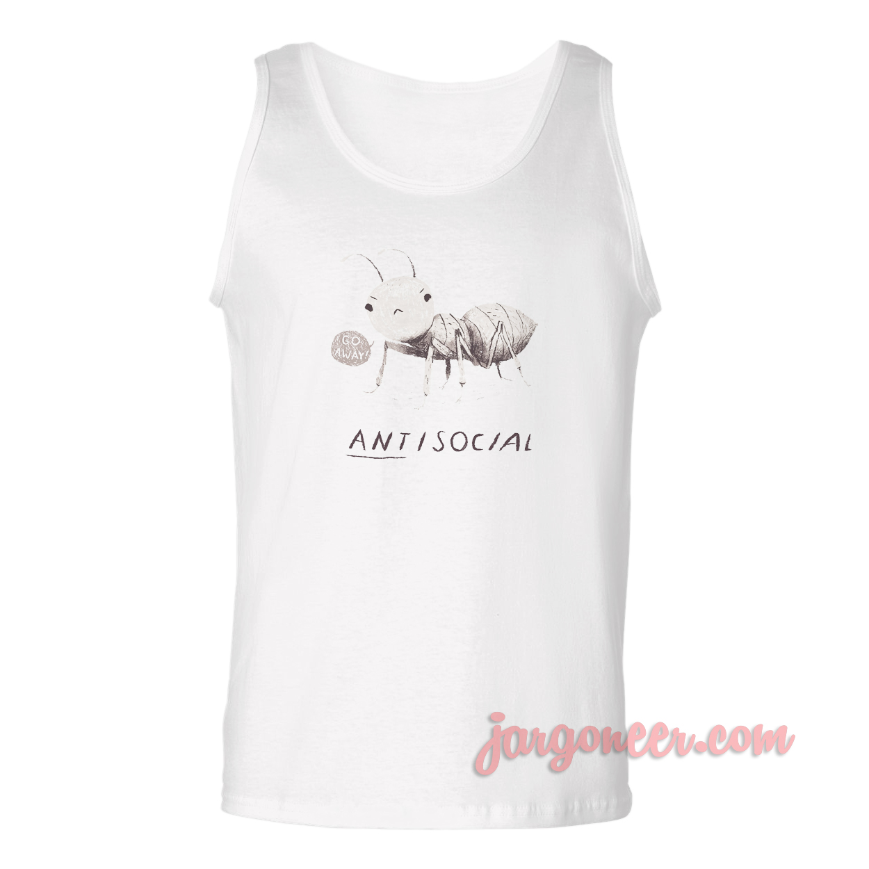 ANTisocial Unisex Adult Tank Top