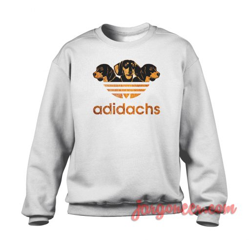 Adidachshund Crewneck Sweatshirt