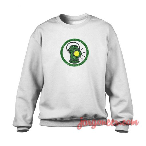 Alan Scott Distressed Crewneck Sweatshirt