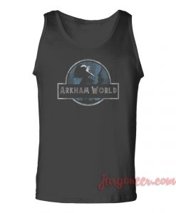 Arkham World Unisex Adult Tank Top