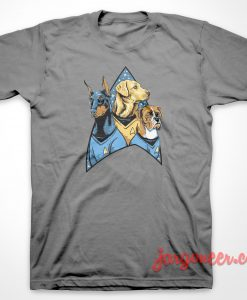 Bark Trek Parody T-Shirt