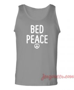 Bed Peace Unisex Adult Tank Top