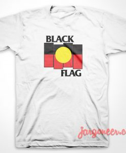 Black Flag X Aboriginal T Shirt
